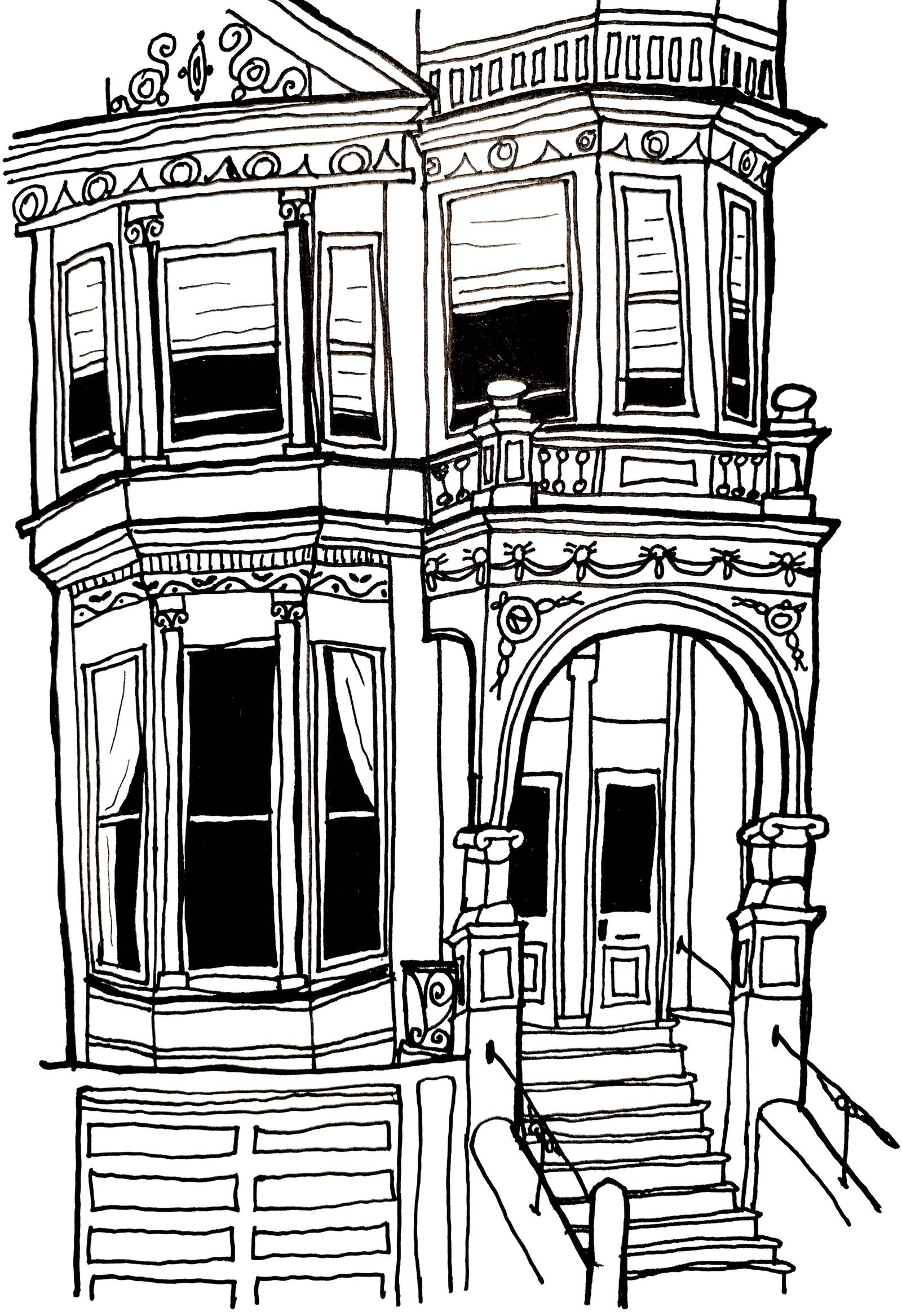 Townhouse Sketch