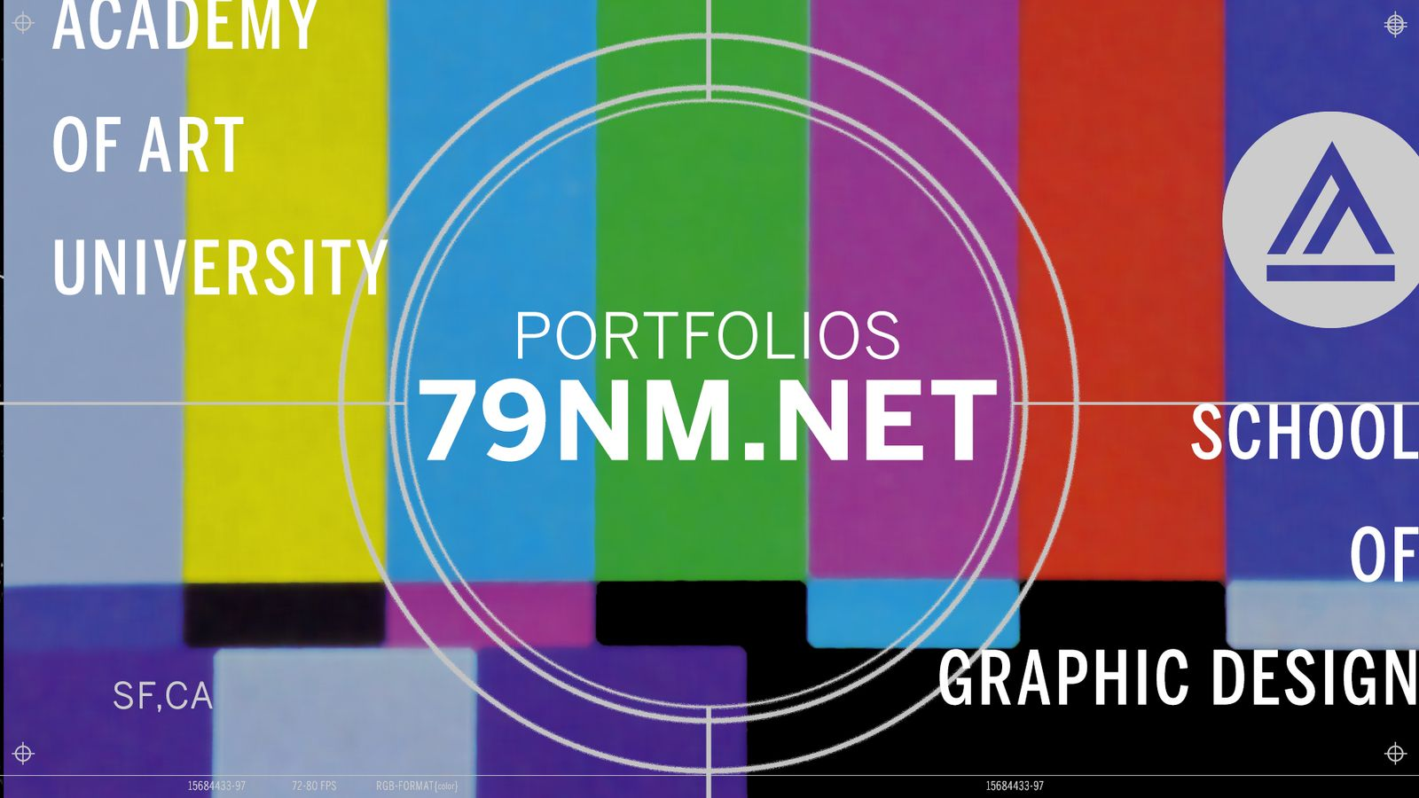 School of Graphic Design portfolio students living the #zoomlife