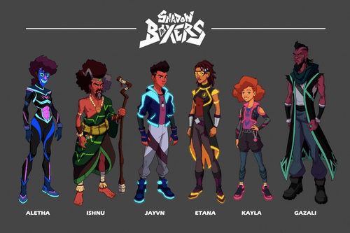 Shadow Boxers Character Lineup