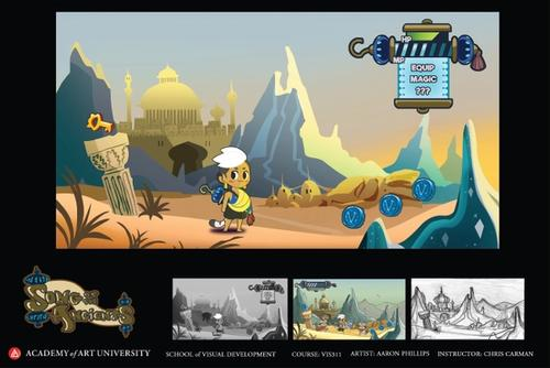 Song of the Ancients - side-scroller concept
