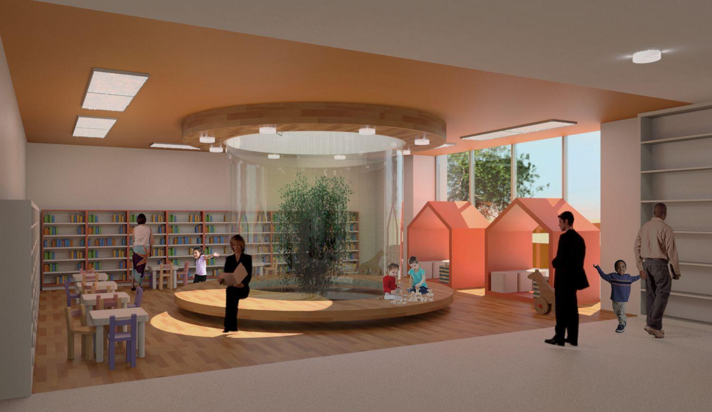Public Library - Children's Area