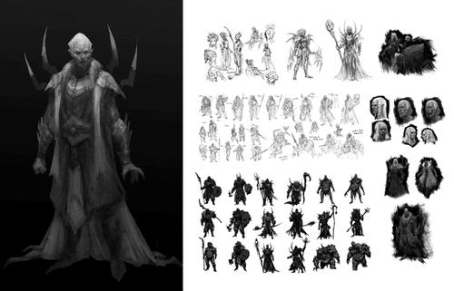 Clan Frost Web Concept Art