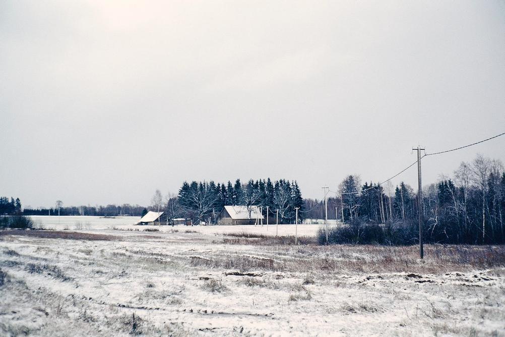 Rural house.