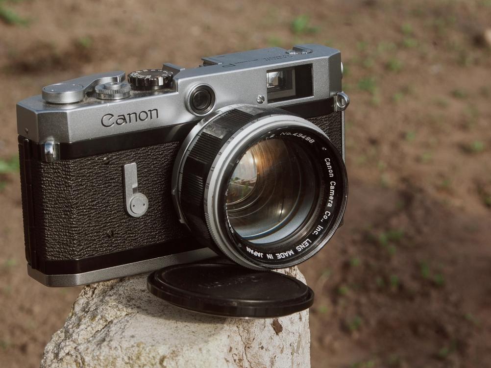 Canon 50mm f1.2 LTM on Canon P.