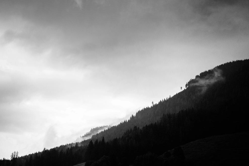 Photo of mountains.