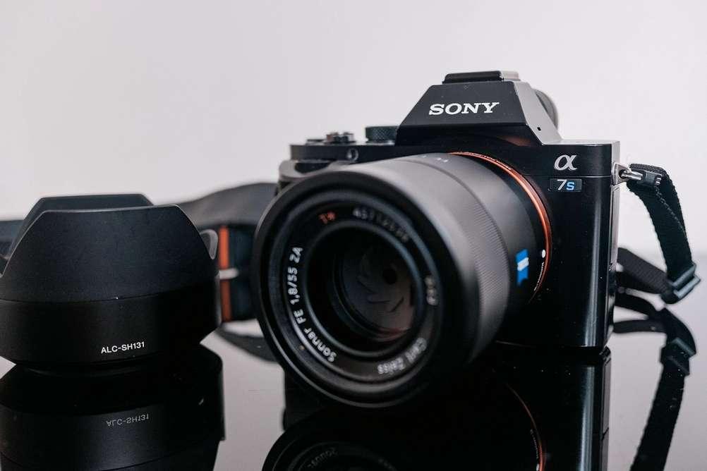 Photo of Sony gear.