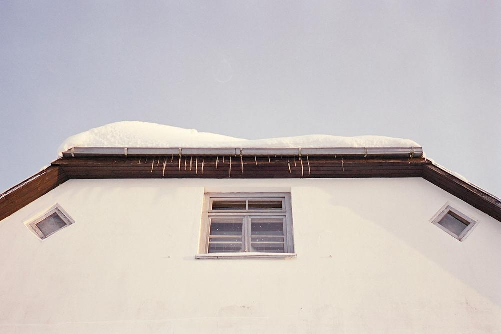 Photo of a building window.