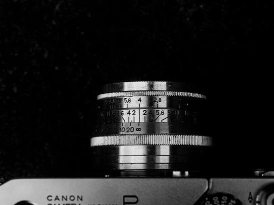 Photo of Jupiter-8 50mm f2 lens.