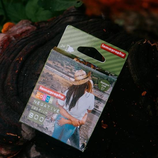 Lomography Color Negative 800 3-pack.