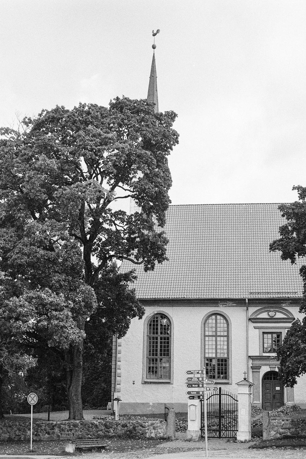 Photo of a church.