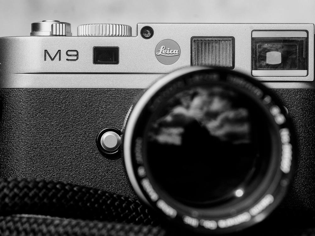 Photo of Leica M9.