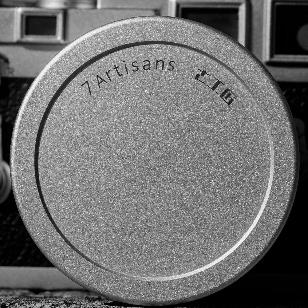 Photo of 7Artisans 50mm f1.1 lens cap.