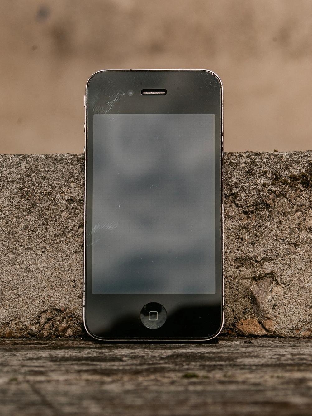 Photo of iPhone 4.
