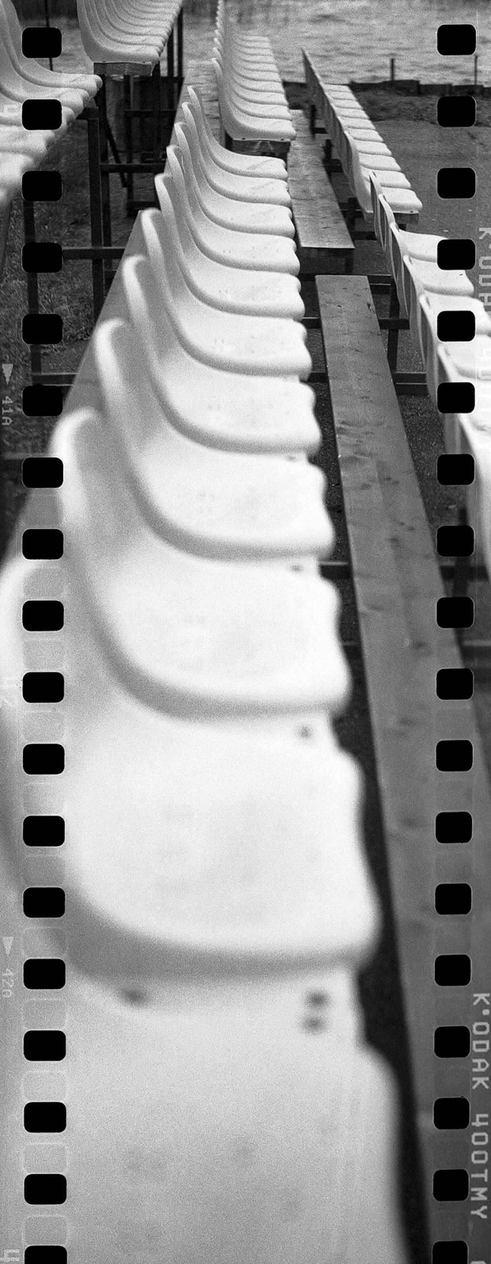 Benches - scanned with sprockets.