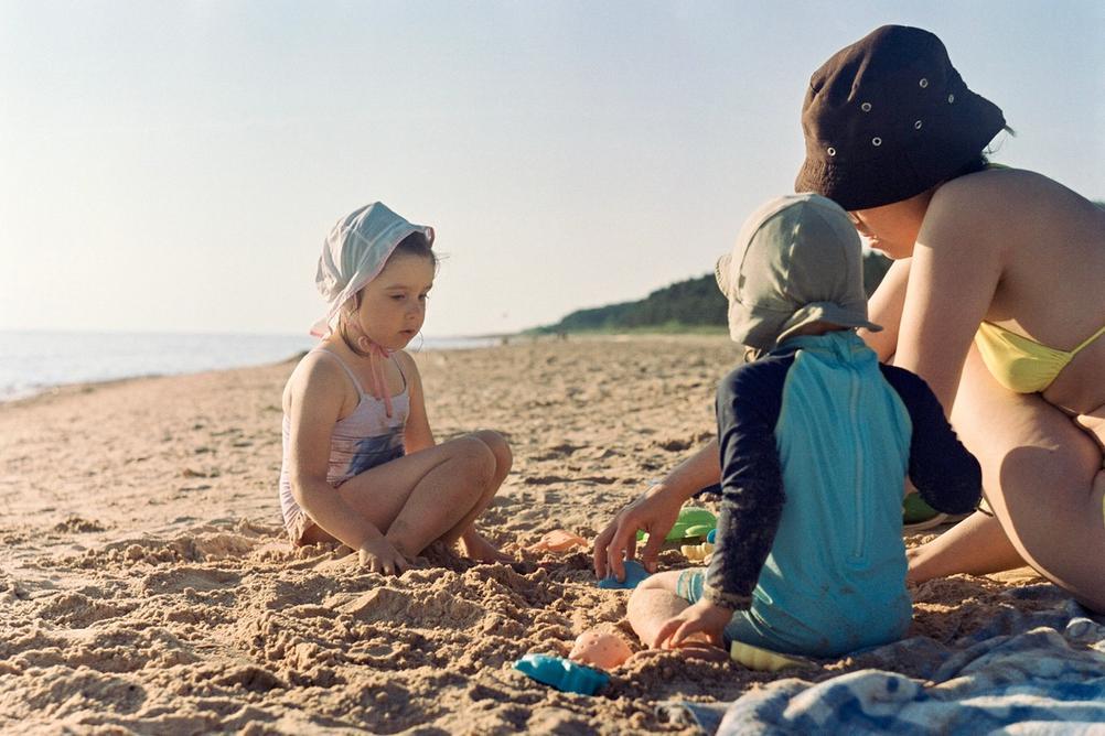 Photo taken on the beach.