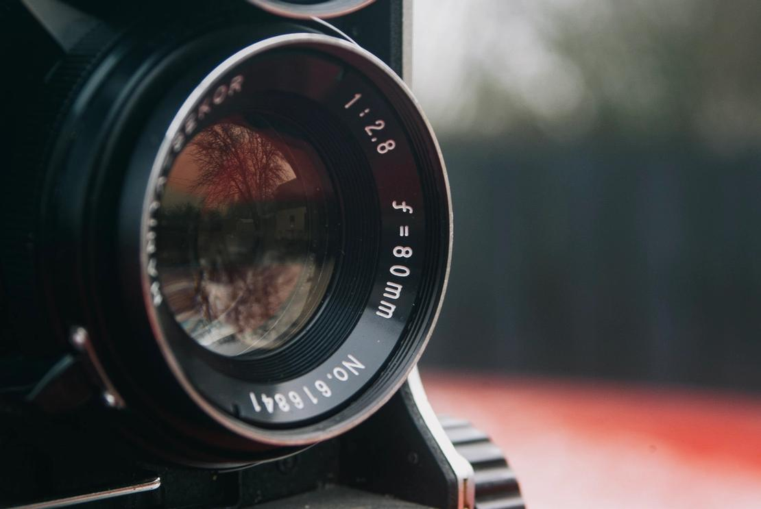 Photo of Mamiya-Sekor 80mm f2.8 taking lens.