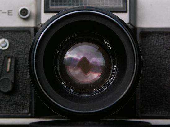 Helios-44-2 lens.