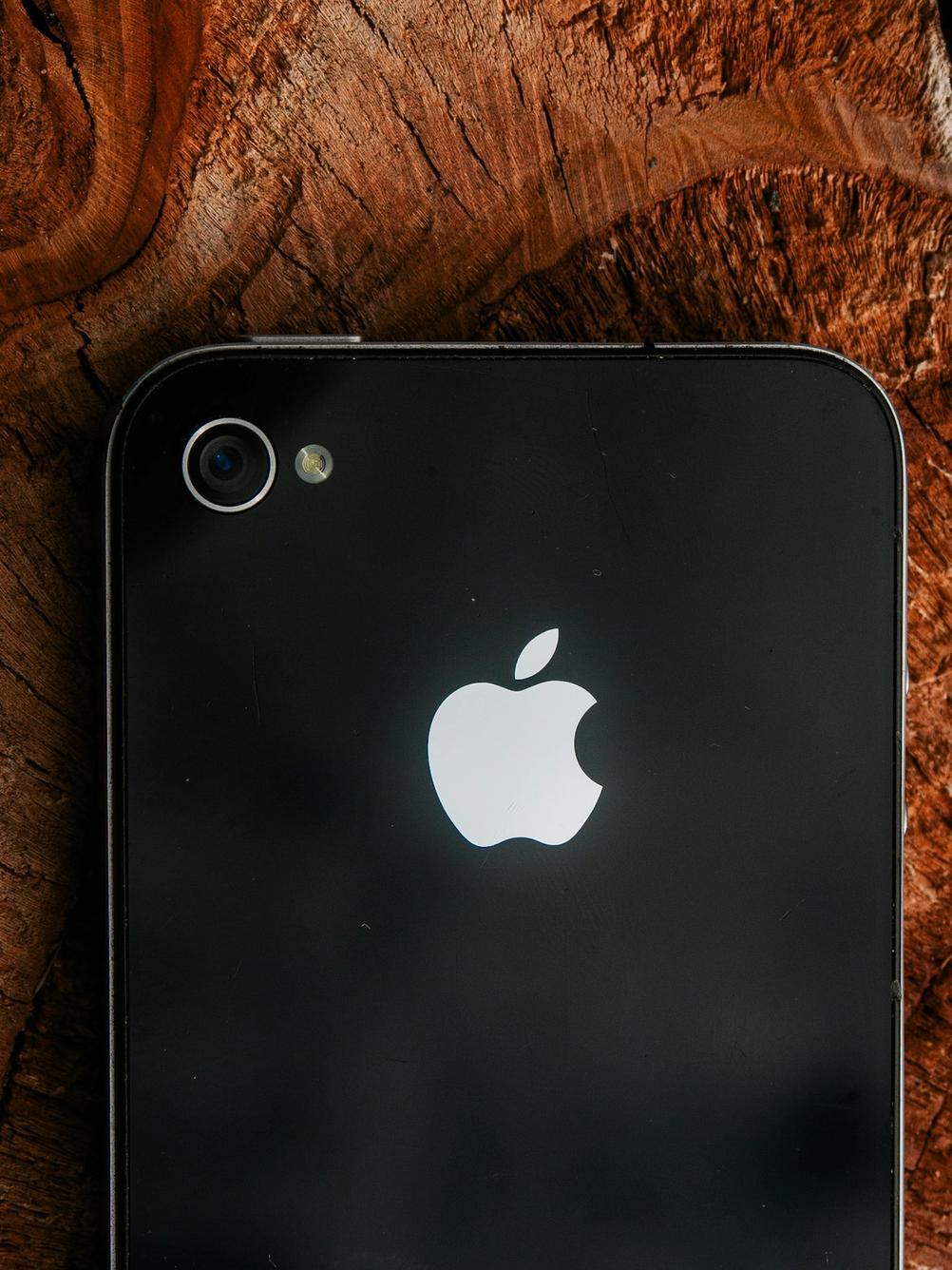 Photo of iPhone 4 rear camera.