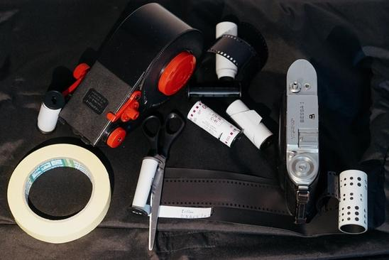 Tools needed to shoot 35mm film on a 120 camera.