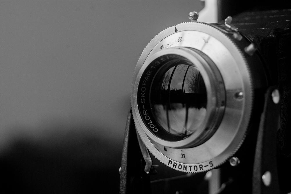 Closeup photo of Color-Skopar 105mm f3.5.