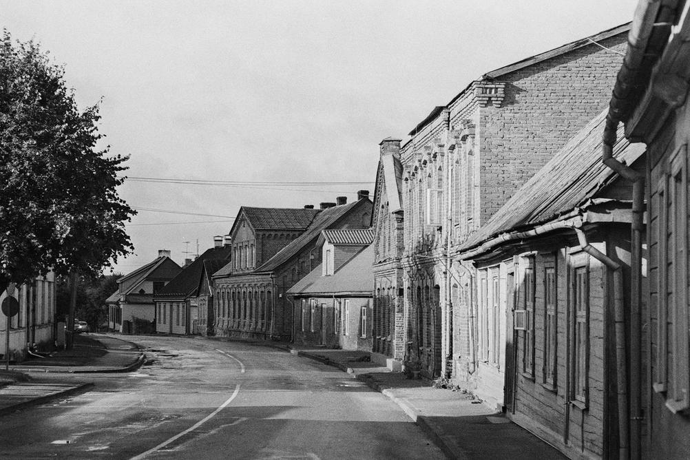 Photo of an old looking street.