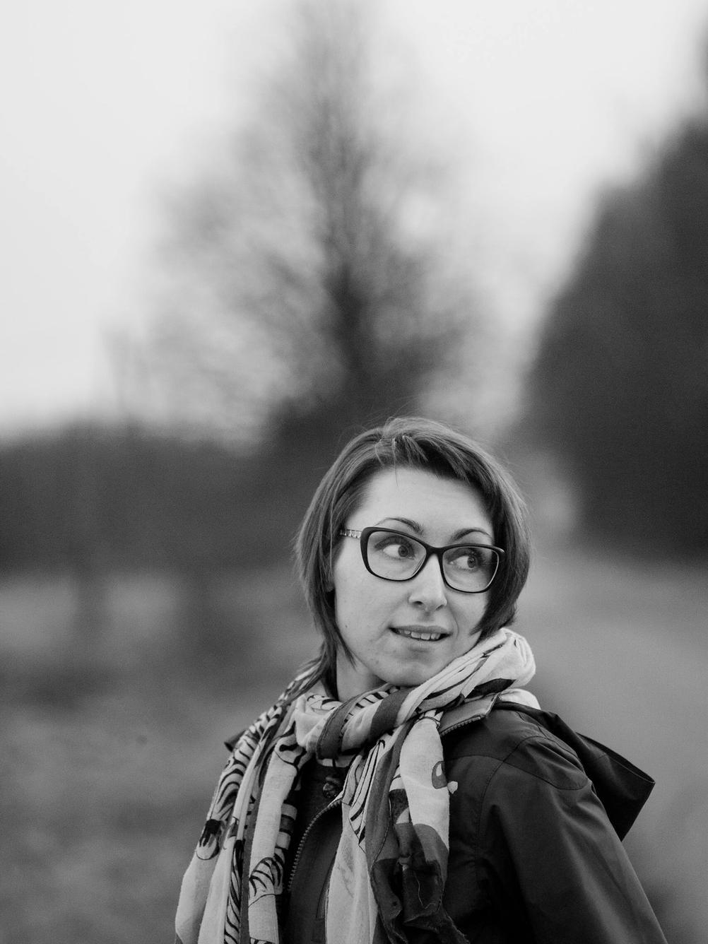 Portrait of my wife.