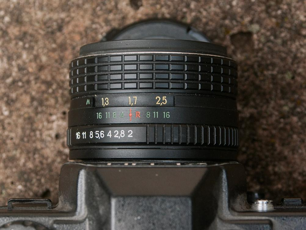 Photo of Helios-44M-5 lens.