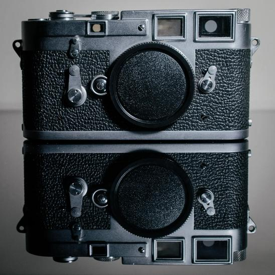 Photo of Leica M3.