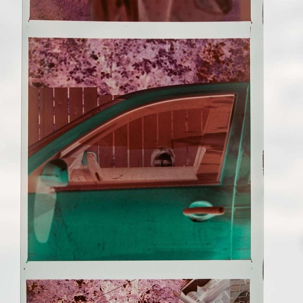 Photo of Silberra Color 160 film strip.