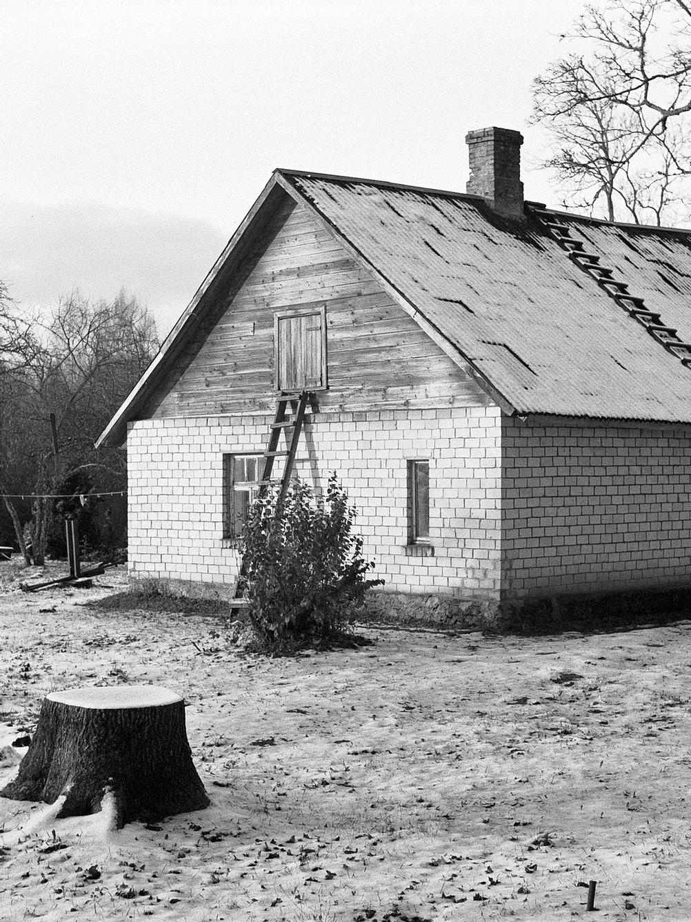 Photo of an old house.