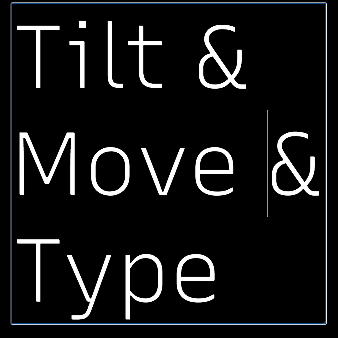 variable tilting type