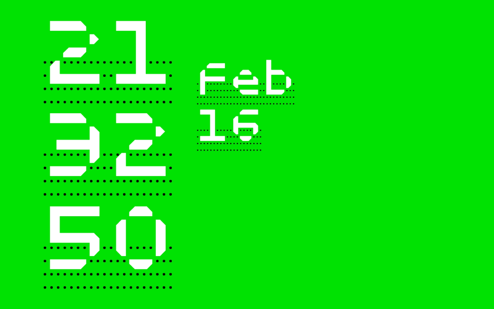 MuirMcNeil clock for TypeCon2016