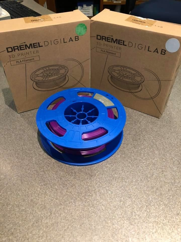 Osterville Village Library Donates Filament for Face-Shields