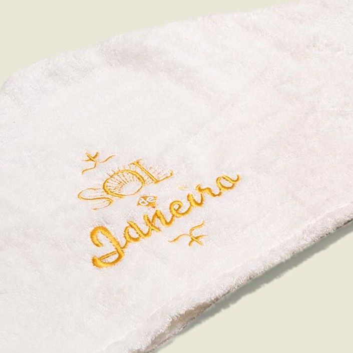 Terrycloth head towels