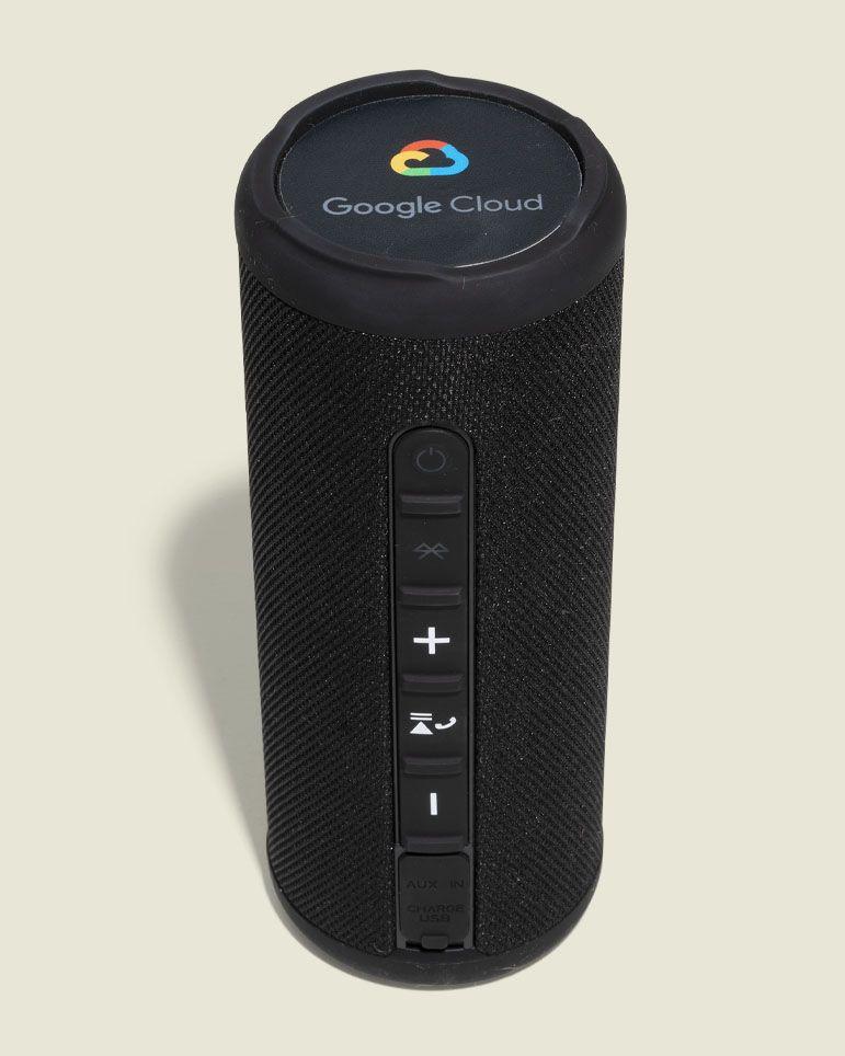 Portable standing speaker