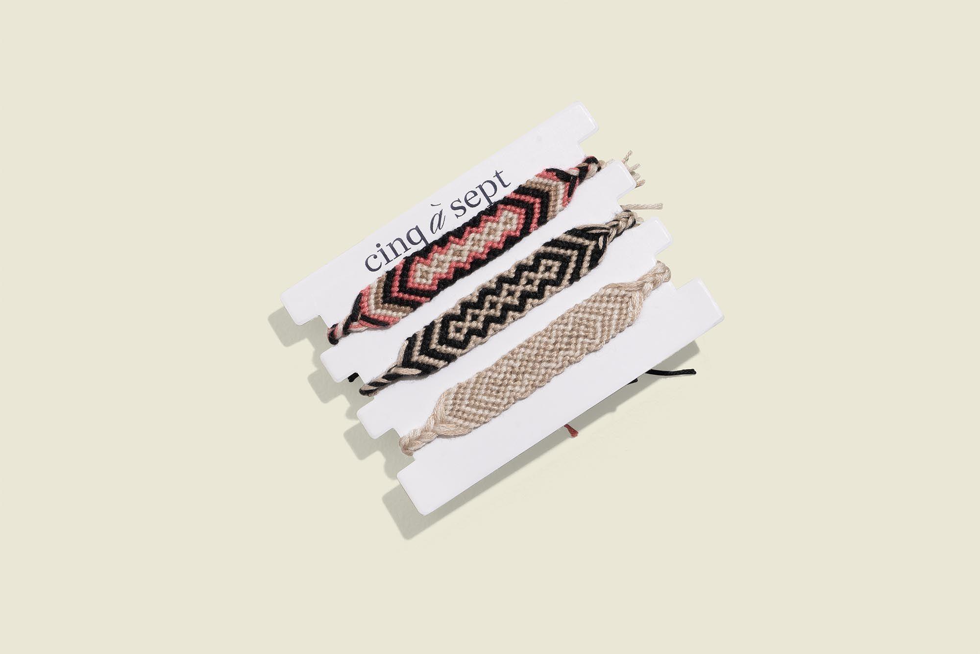 Custom packaged bracelets