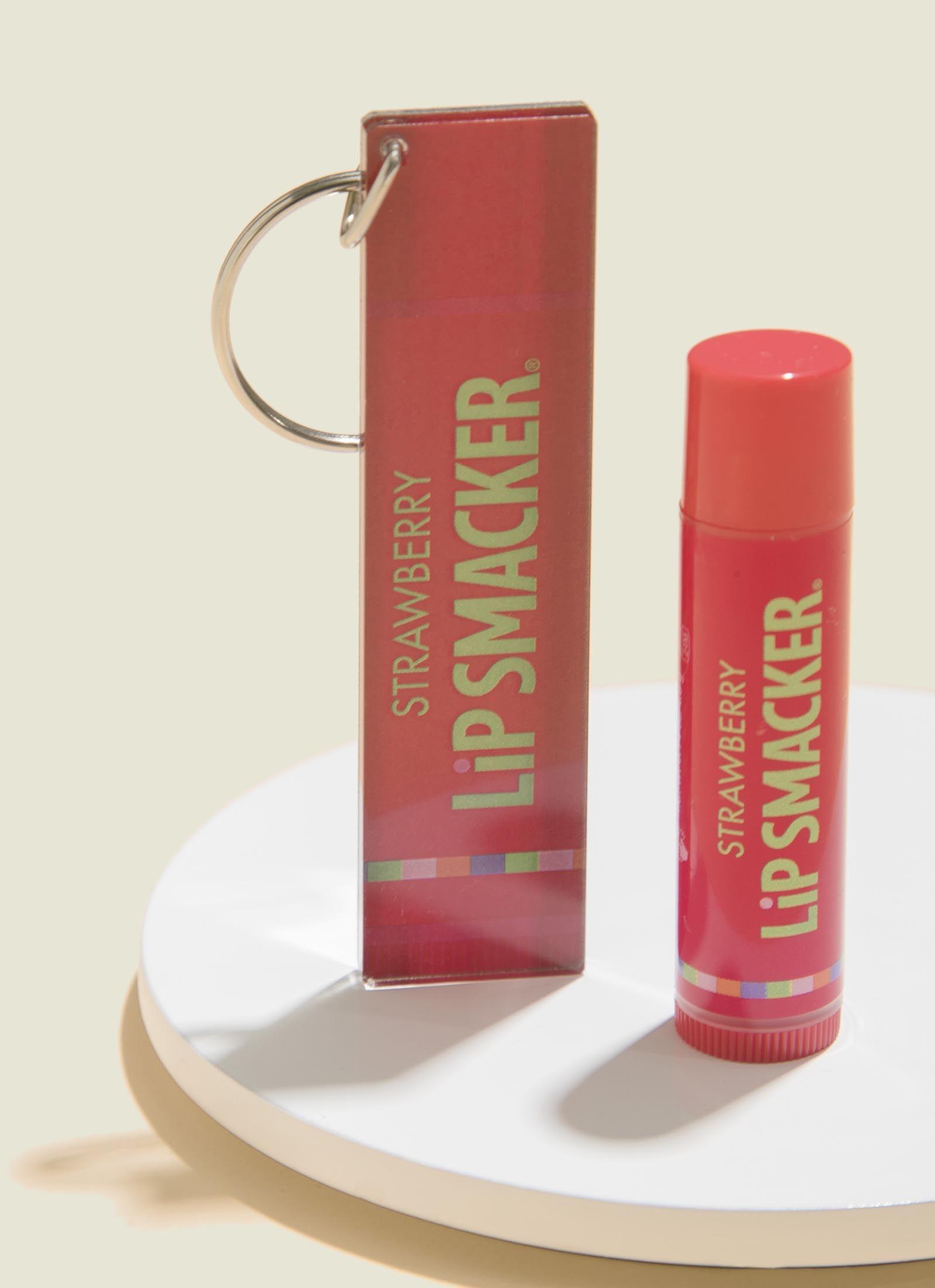 Lip balm with keychain