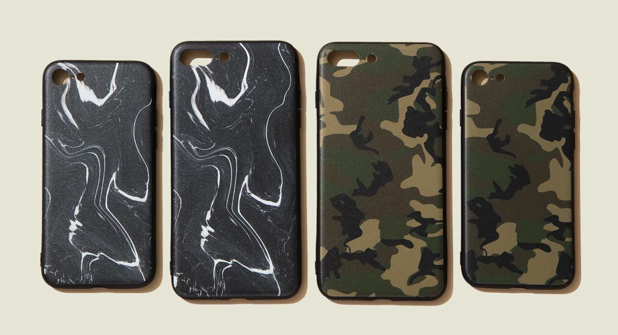 Set of phones cases