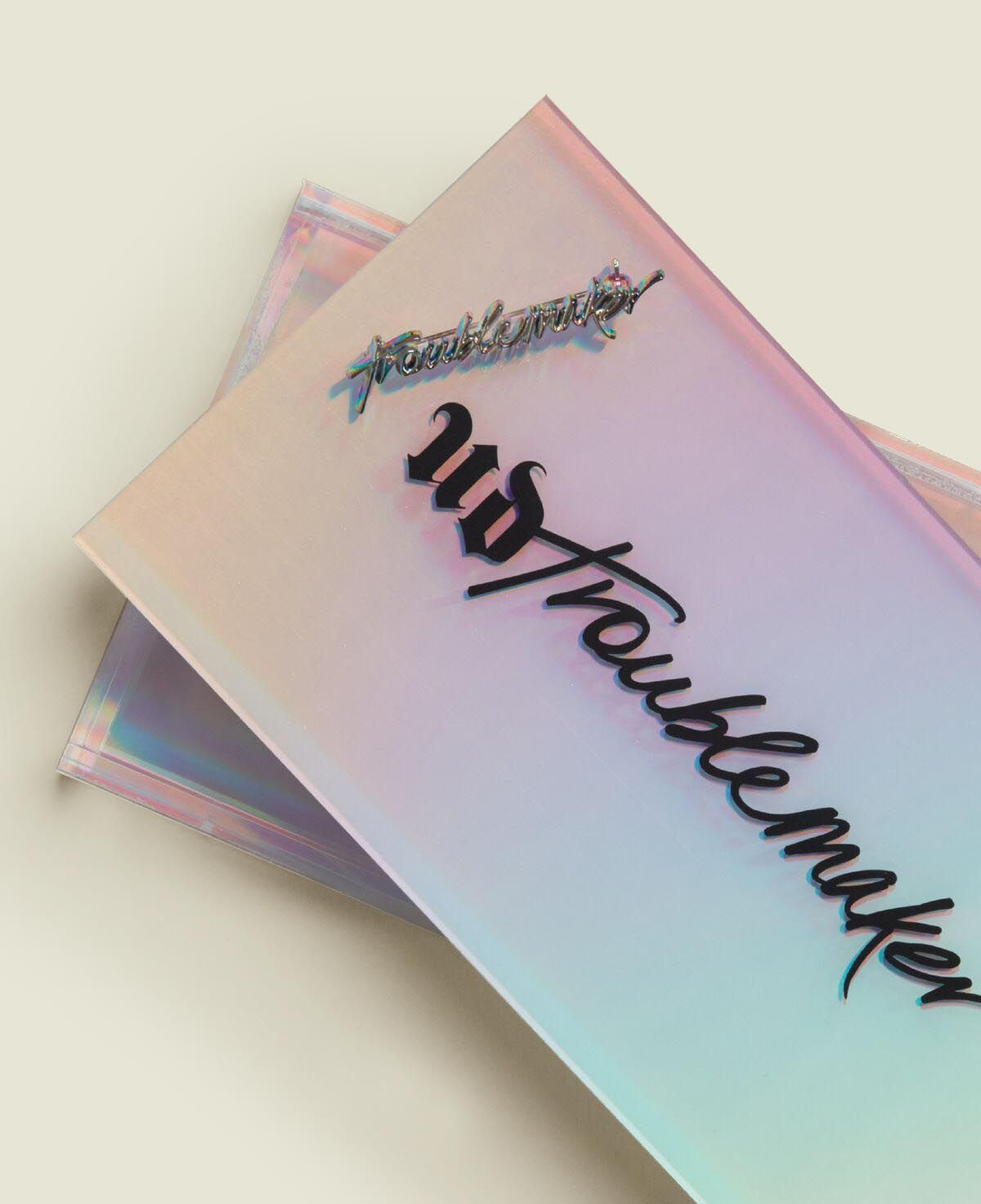 Holographic acrylic box with pin