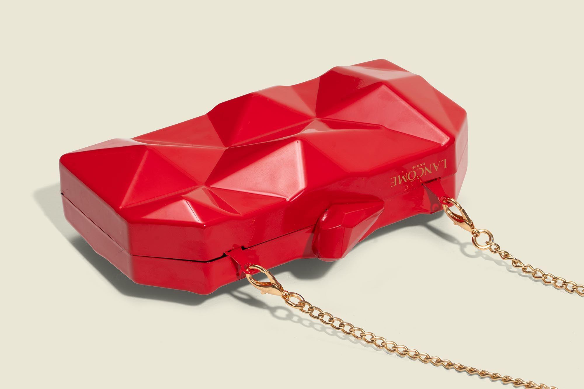Custom metal bag with chain