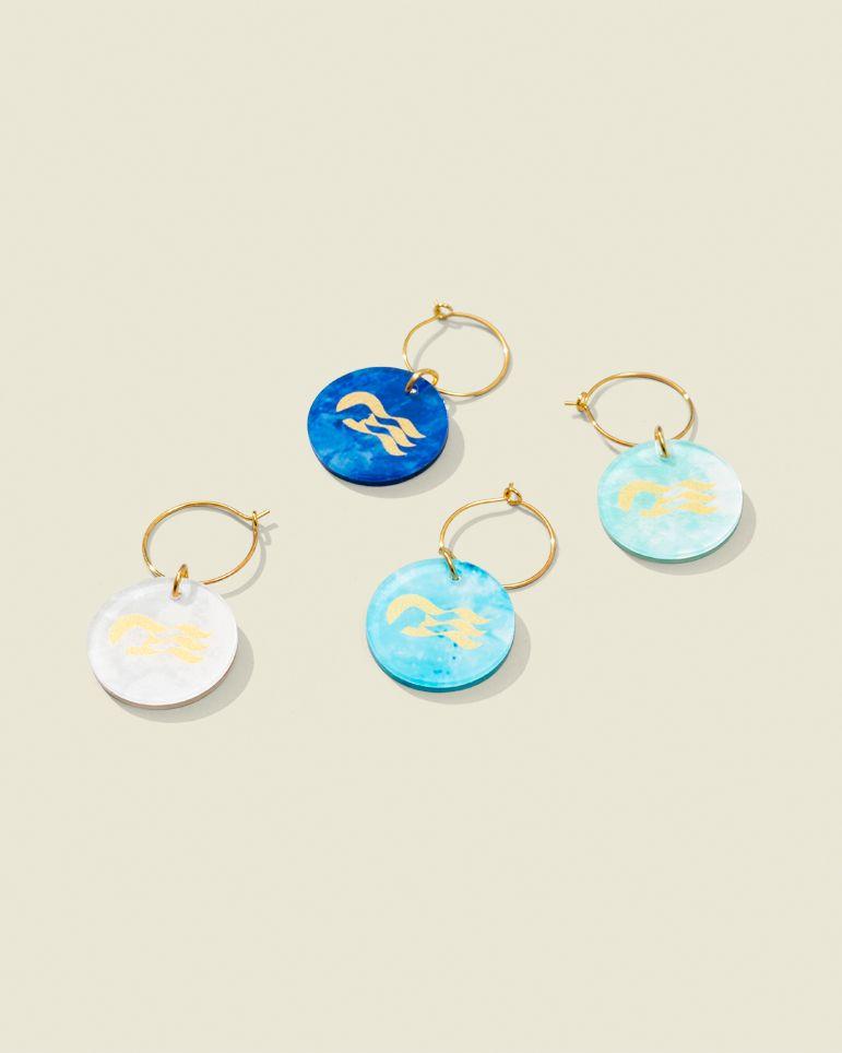 Set of ear rings