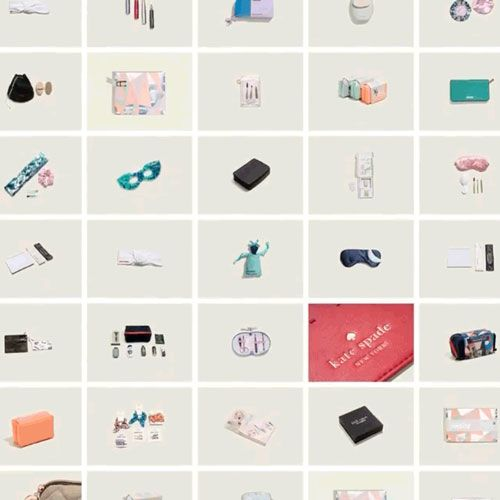 grid of dozens of thumbnails of products made by twelve