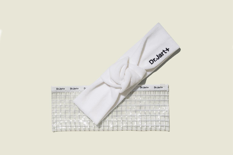 Custom ziplock bag with headband