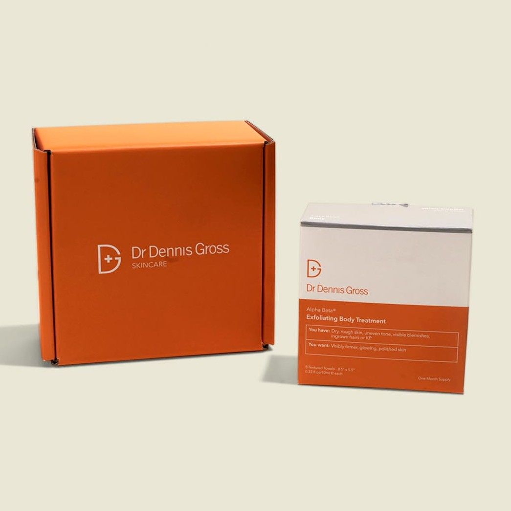 Custom packaging with beauty product