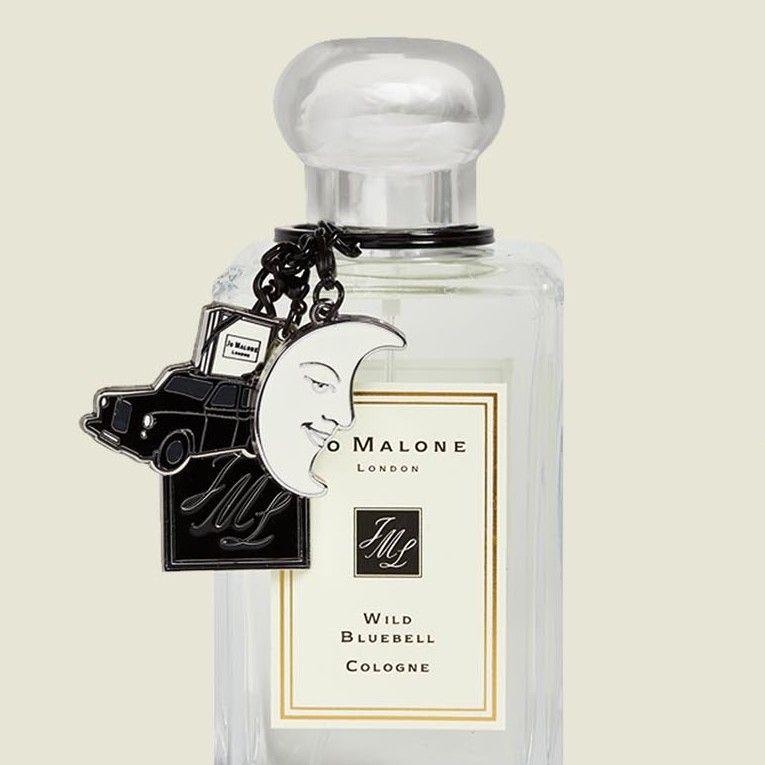 Perfume with keychain