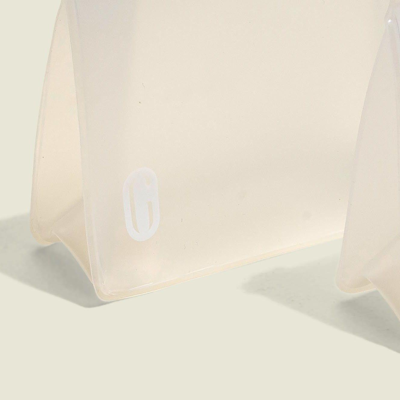 Standing ziplock pouches