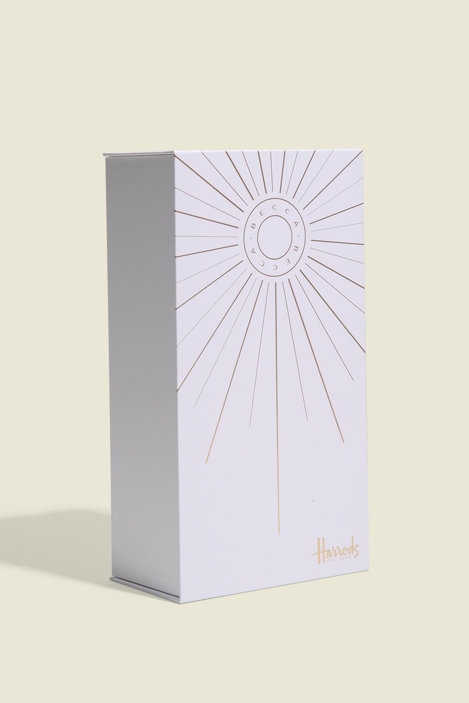 Custom hinge box packaging