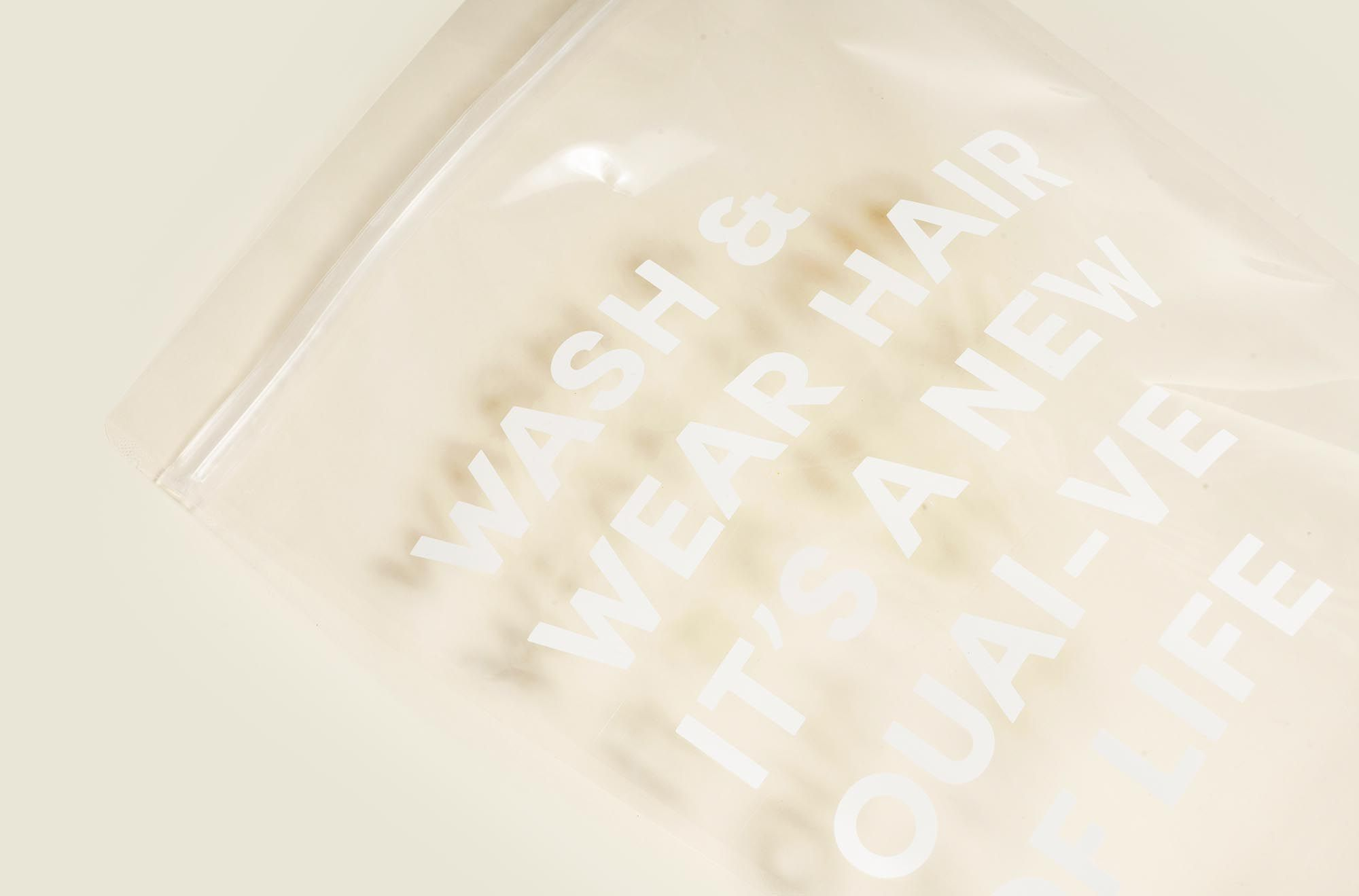 Custom packaging ziplock bag