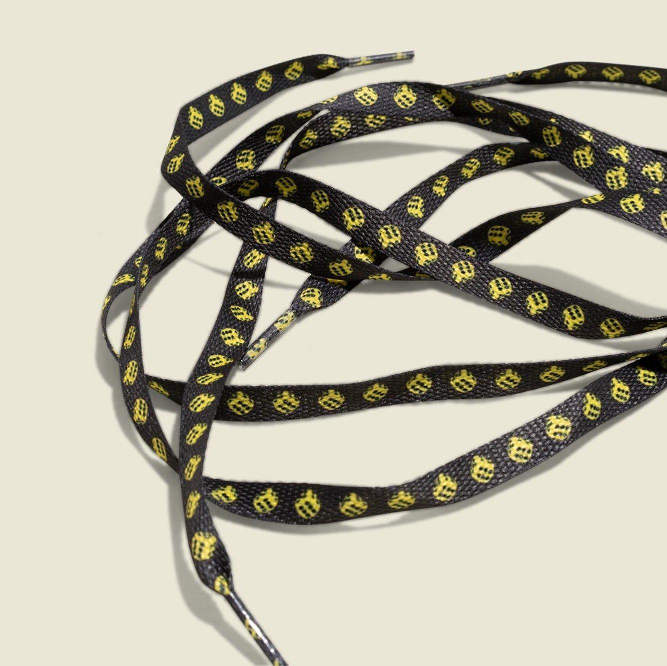 Custom shoe laces