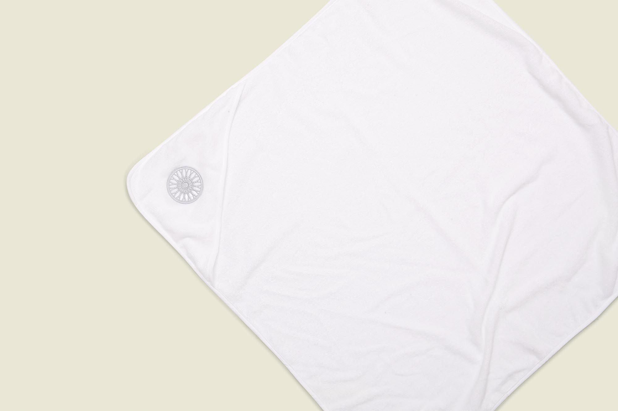 White washcloth